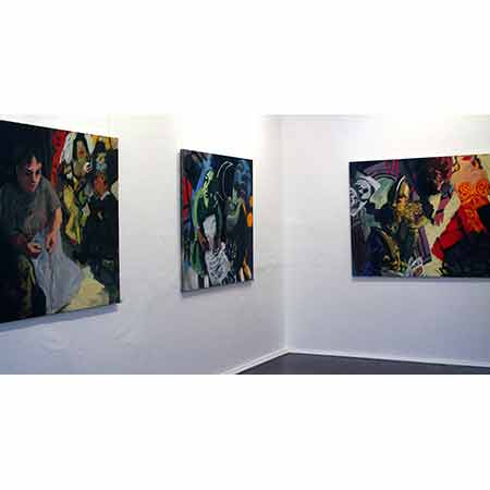 The Opera Series - Paintings and Drawings, King Street Gallery on Burton, Darlinghurst, Sydney 2006