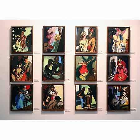 Small Opera Paintings 2006 Oil on canvas (all works) 30cm x 25cm