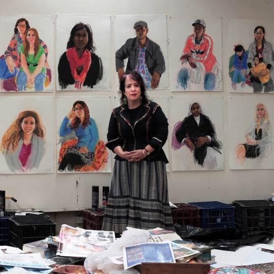 Artist Seeking Humanity Project - Wendy Sharpe